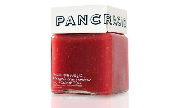 Love it! Jam #packaging reminiscent of nail polish bottles - Pancracio Marmalade PD