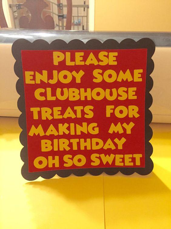米老鼠生日装饰。用卡片纸做的米老鼠标志。加急费 -  $ 3.00额外此商品可以定制任何颜色或主题。给我留言来定制你的订单:)