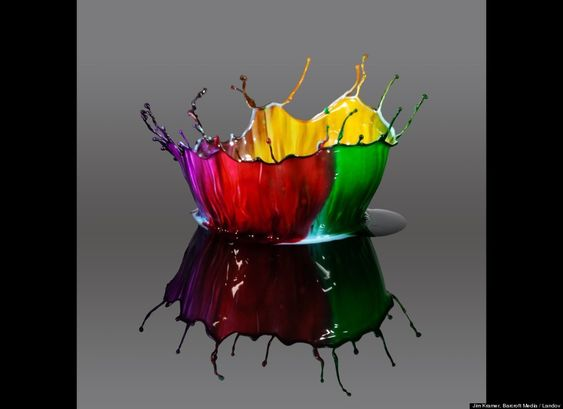 Incredible Water Droplets Captured In High Speed Photography