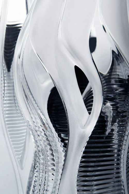 Zaha Hadid. Crystal architecture collection for Lalique
