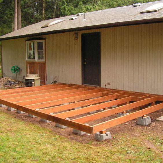 后院甲板是扩大户外生活空间的绝佳方式,但甲板可能会非常复杂,耗时且昂贵。一种简单的方法来建立地面层...