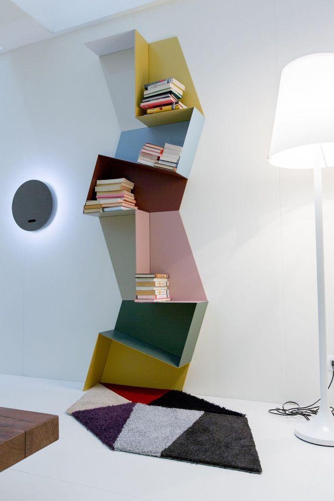 五彩缤纷的梯形,不受欢迎的组合|滑架| #书架…