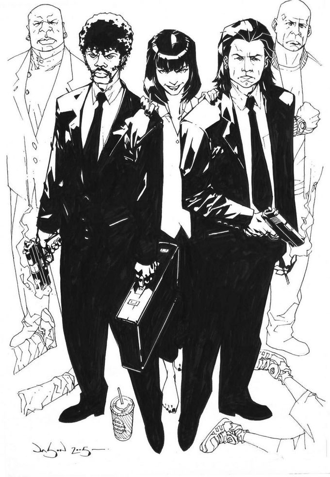Pulp Fiction by Jason Pearson