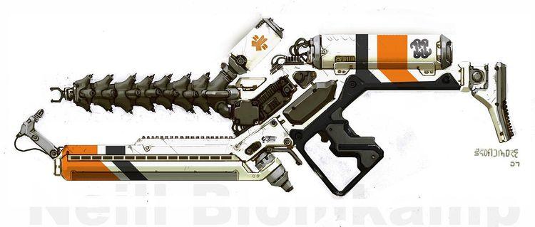 Greg Broadmore - D9 Arc Gun
