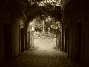 老公墓Highgate公墓,伦敦,英国