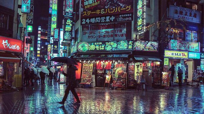 Tokyo Looks Best at Night