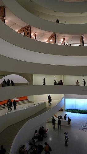 古根海姆博物馆 - 弗兰克劳埃德赖特