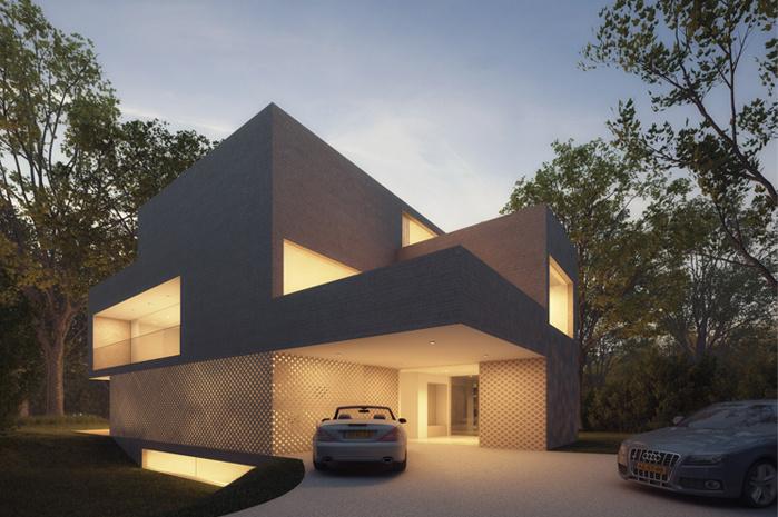 | Hofman Dujardin建筑事务所别墅公园布雷德罗德