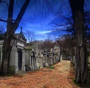 Pere Lachaise公墓 - 吉姆莫里森被埋葬在这里