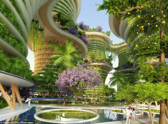 Eco-friendly tower blocks will produce more energy than they consume