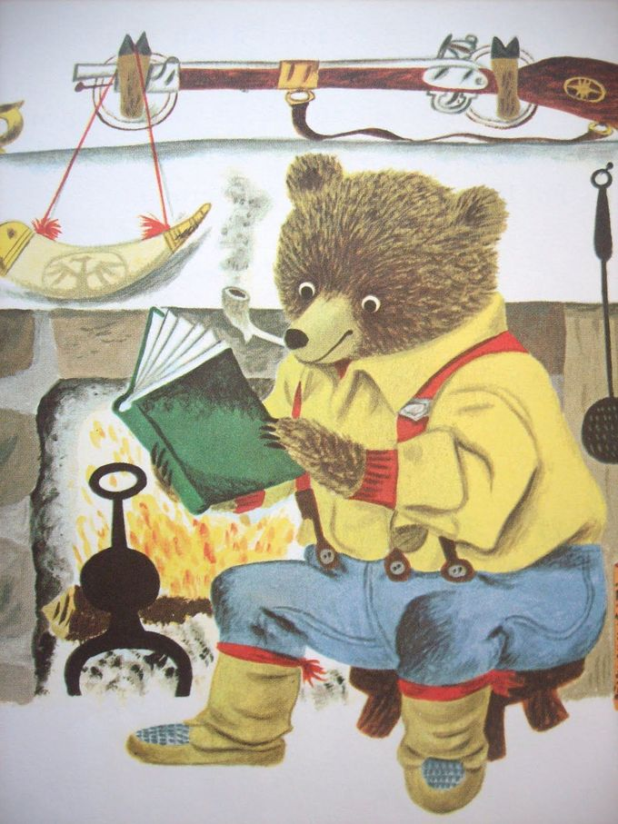 Mr. Pierre Bear, by Richard Scarry
