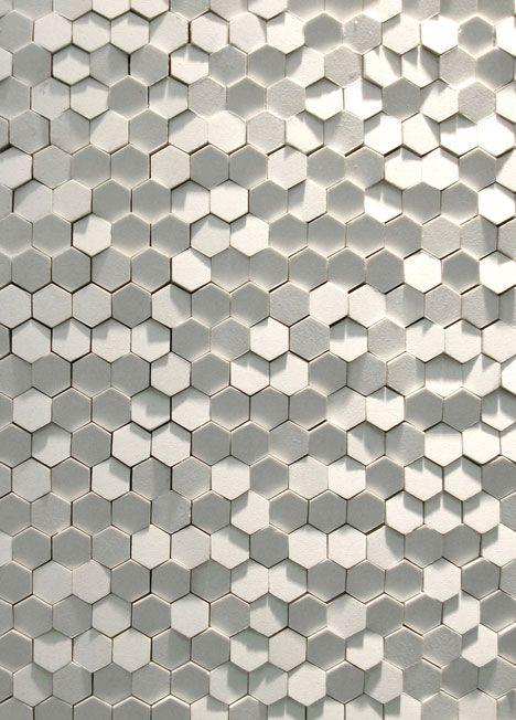 Honeycomb tiles by Tokujin Yoshioka