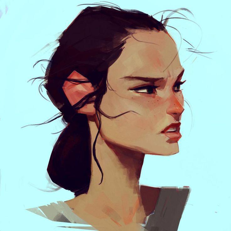 samuelyounart:Rey的草图