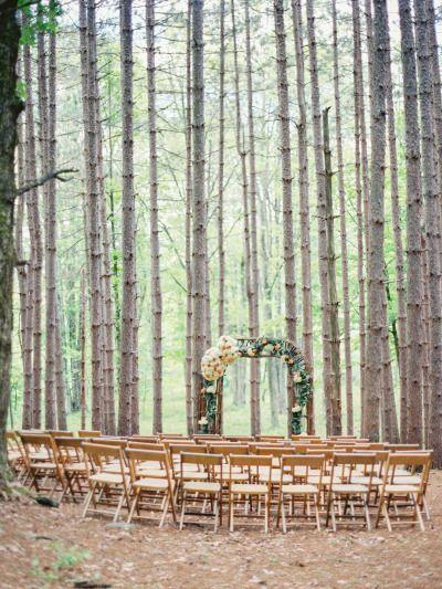 异想天开的松林婚礼