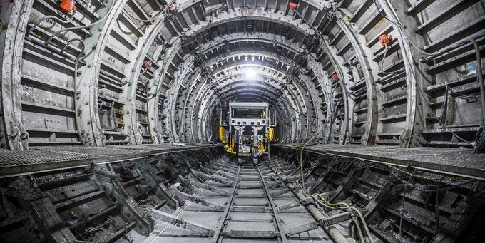 Image result for subway tunnel construction