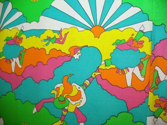 Peter Max Bedspread, immaculate condition - heavily reduced price, desperately…