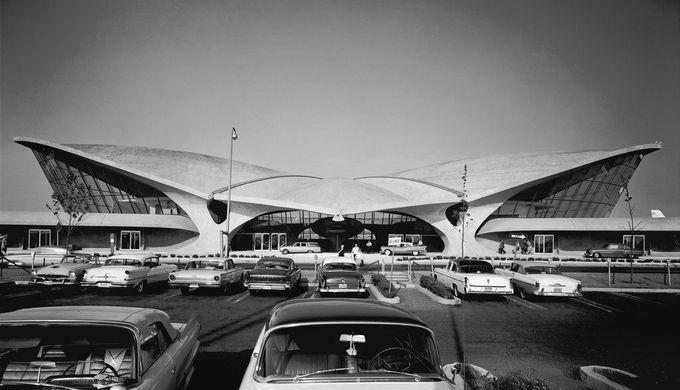 Trans World Airline Terminal Kennedy Airport | Eero Saarinen | Photography: Ezra Stoller