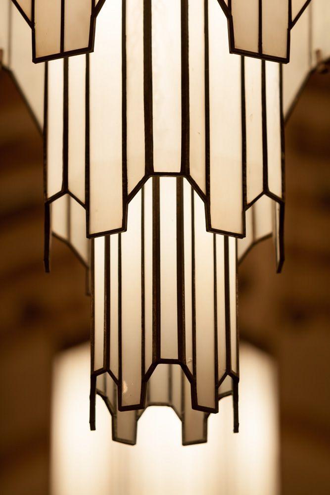 艺术装饰挂灯。