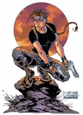 Tomb Raider Comic Art