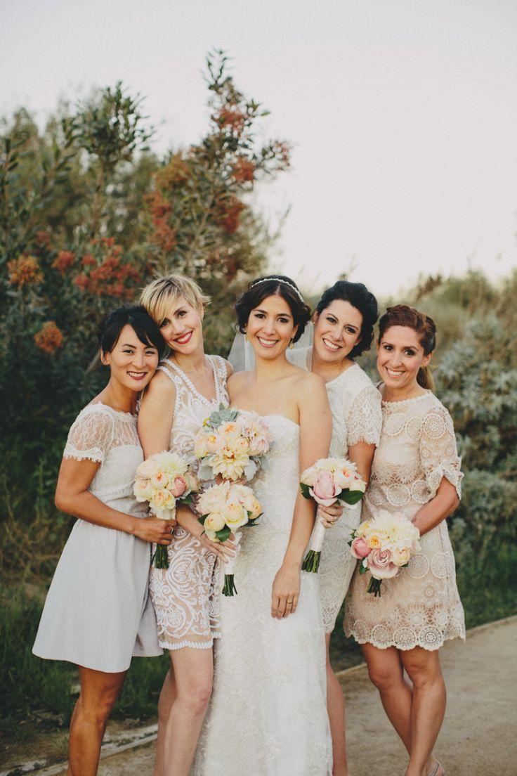 BHLDN伴娘白色阴影|通过:实用的婚礼