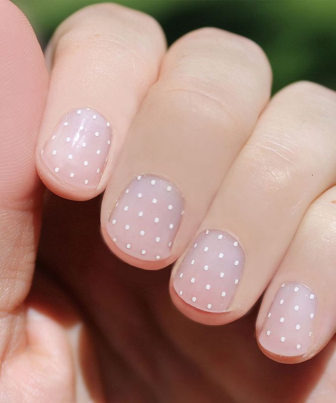 So Gloss Nail Wraps Swiss Dots Nail Wraps - Set of Two