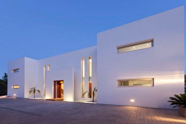Designer villa with sea views in Es Cubells - Vista Alegre - Modern villa seaviews