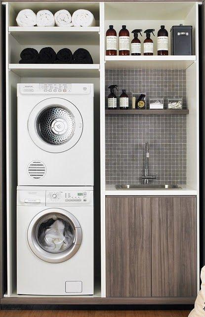 小空间洗衣解决方案