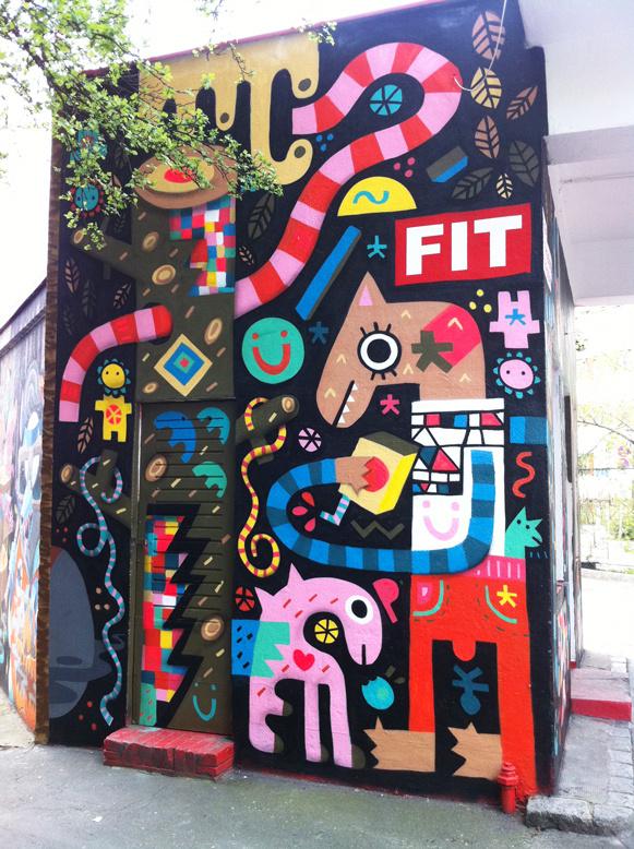 Pictoplasma x FIT freie internationale tankstelle by Billy , via Behance