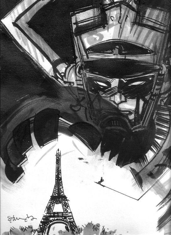 Galactus: Tommy Lee Edwards