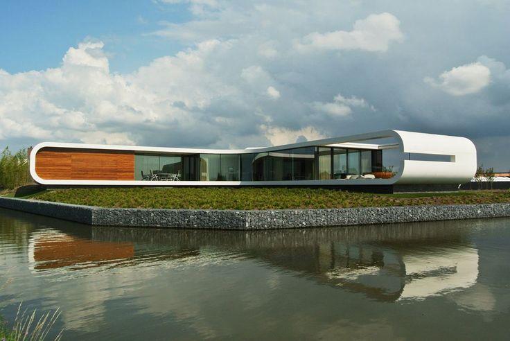 Villa New Water - Picture gallery #architecture #interiordesign #curves