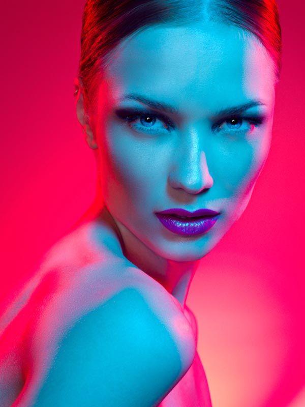 Colorful Beauty Portrait by David Benoliel