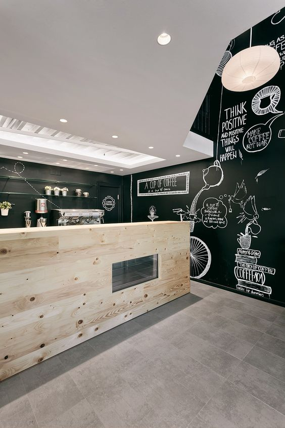 "Arhitektura Budjevac的任务是创造一家新的咖啡店,这是未来""咖啡""特许经营的第一个发展项目。"