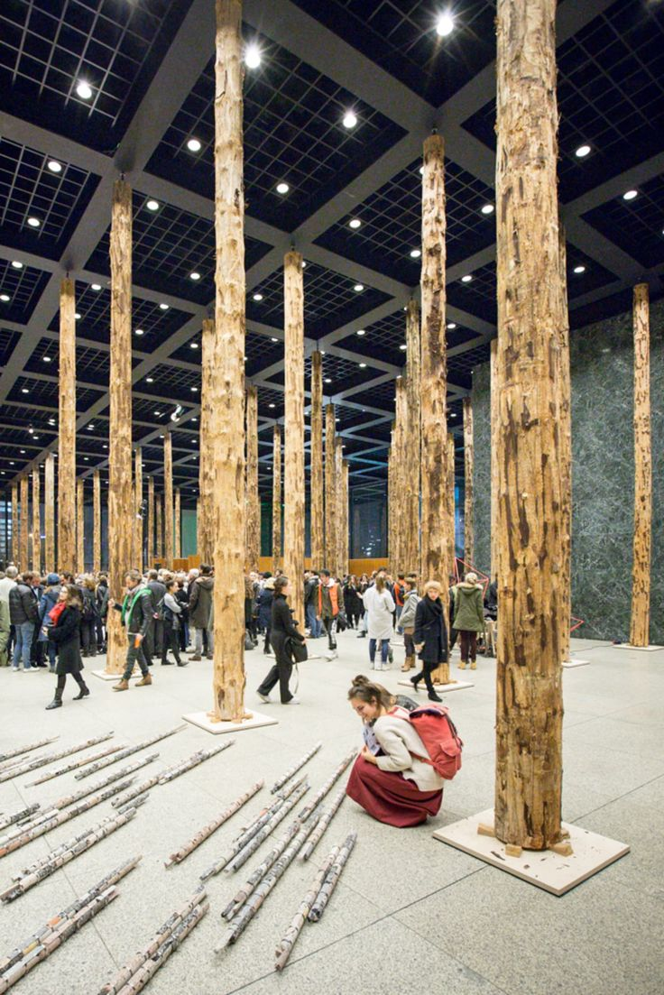 David Chipperfield Architects,Laurian Ghinitoiu·Sticks and Stones