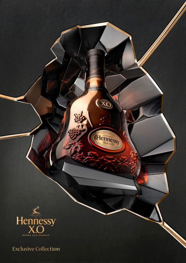 Hennessy XO cognac exclusive collection - Cognac #Cognac #Hennessy