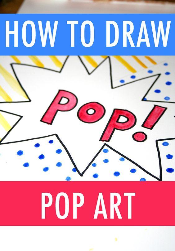 想要绘制像安迪沃霍尔和罗伊利希滕斯坦?这些教程指导您如何绘制波普艺术的几种方式,让您的艺术品脱离页面。