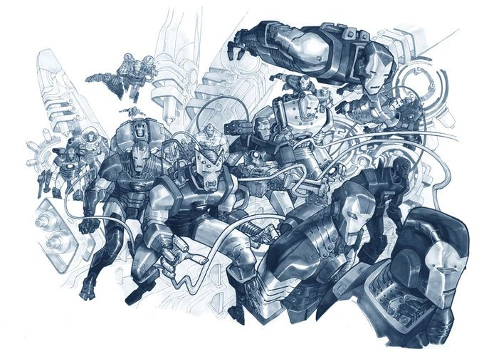 Iron Men, by Eric Canete