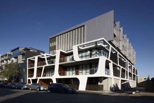 Nott Street apartments in Port Melbourne by Plus Architecture