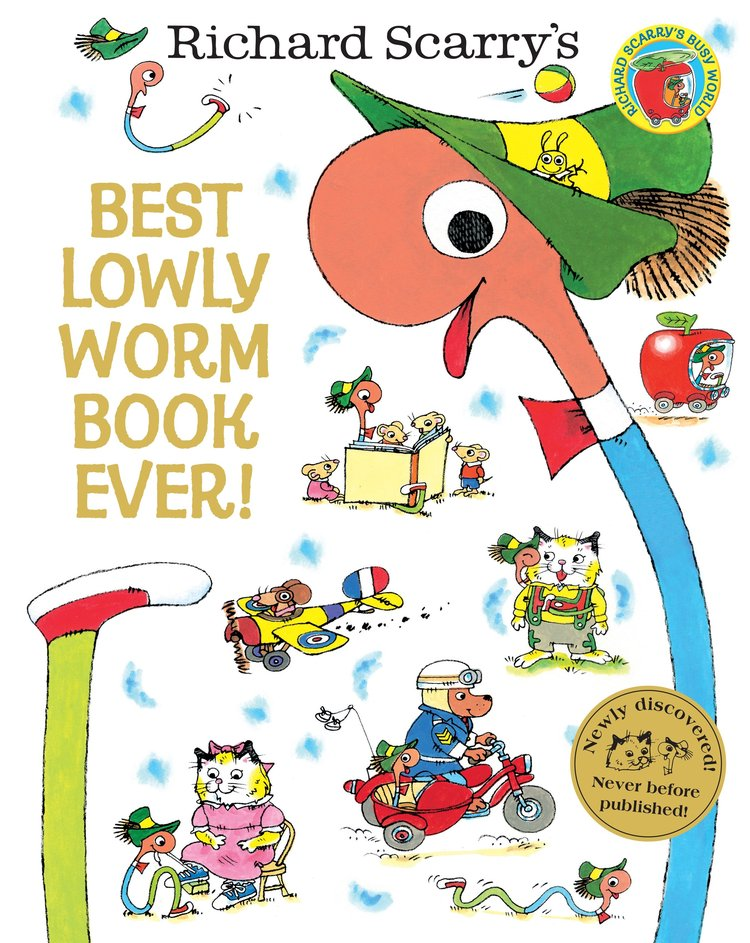 A new book featuring Richard Scarry's Lowly Worm was published 50 years after the first edition of the classic