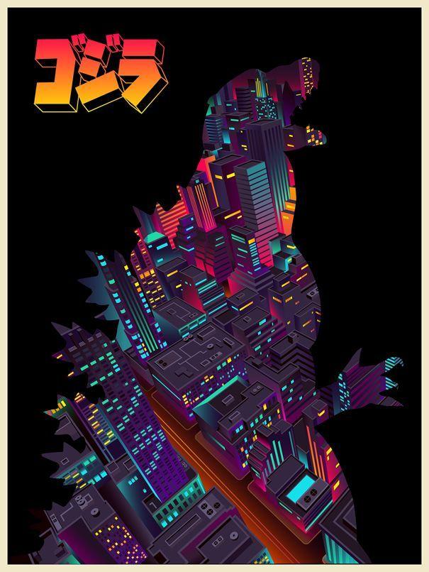 Alternative Godzilla Posters - Design - ShortList Magazine