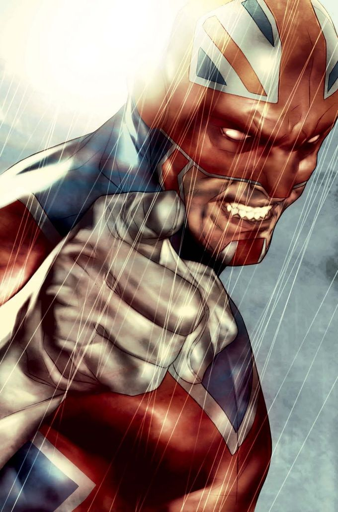 Captain Britain by Ben Oliver