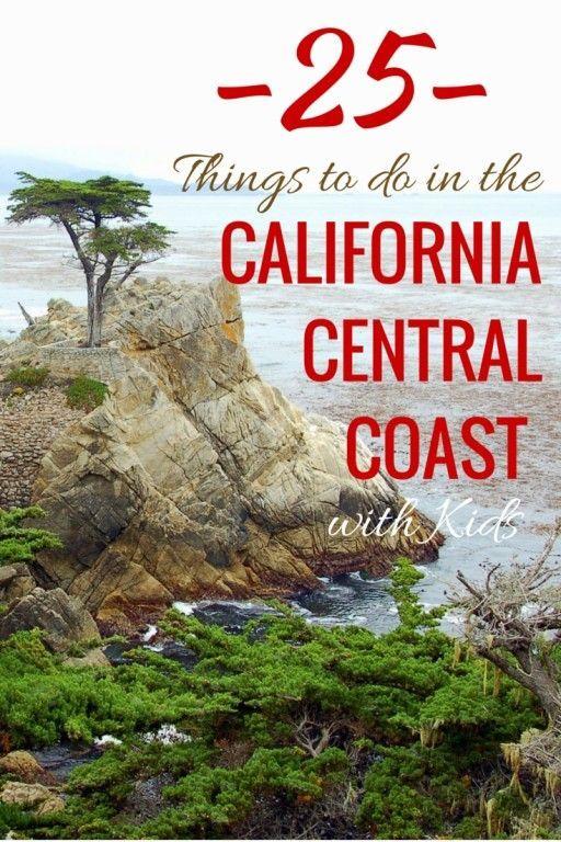 加利福尼亚州中部海岸与孩子们共有25项活动的指南和提示。看看加利福尼亚这个美丽的地方提供什么。