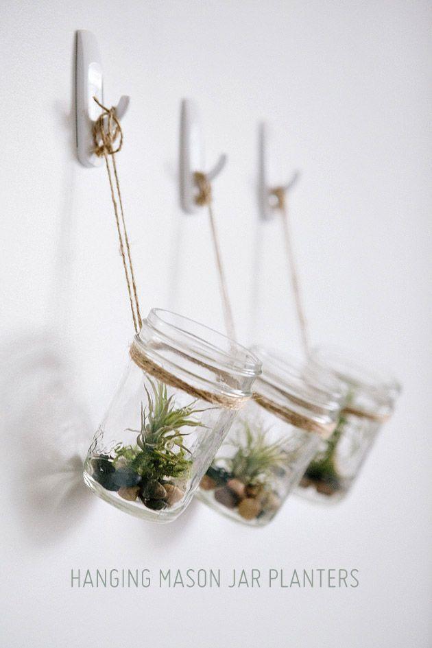 挂起来! •DIY挂式花盆