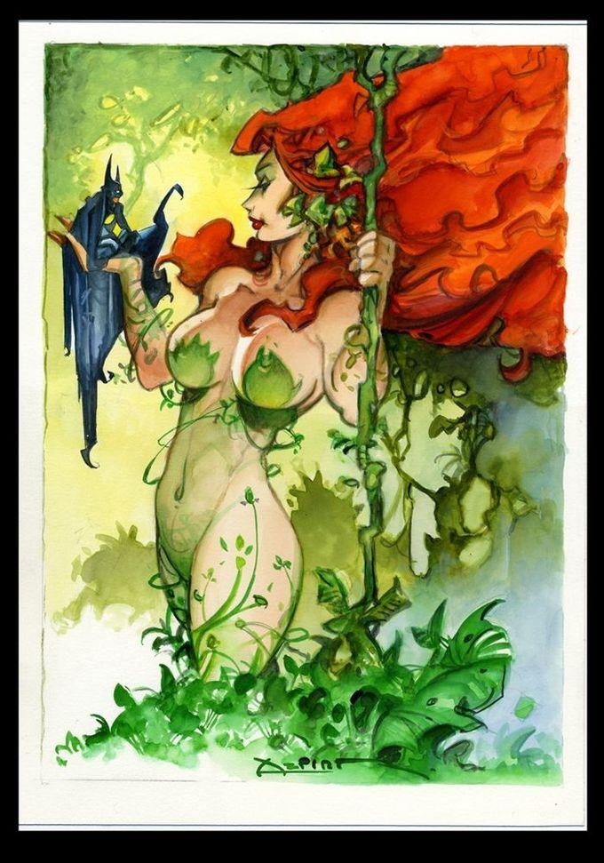 Poison Ivy by Alfonso Azpiri
