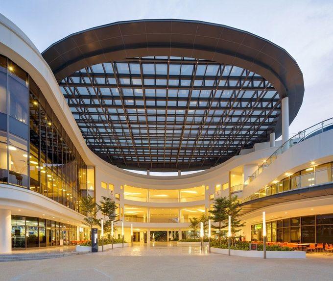 Stephen Riady中心/ DP建筑师事务所