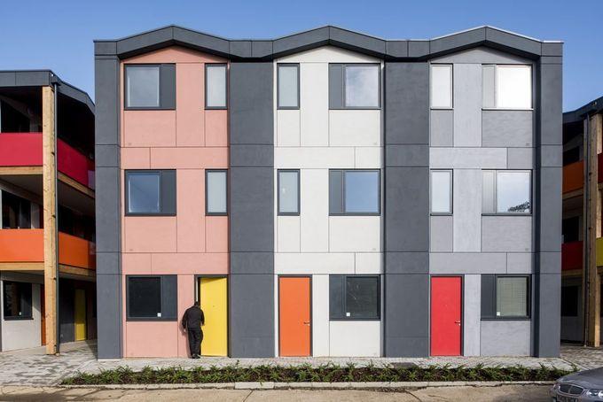 Y:Cube - Picture gallery #architecture #interiordesign #socialhousing #colours