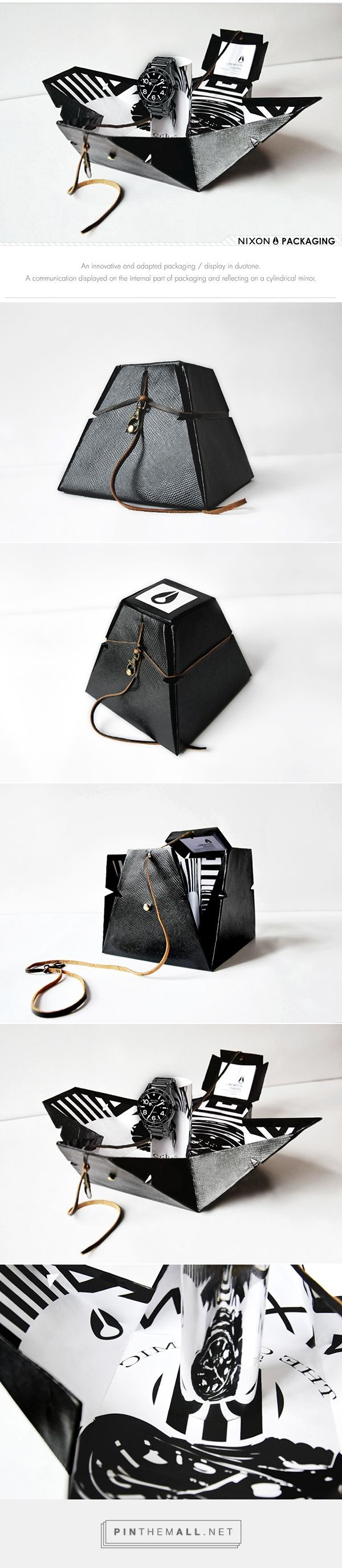 Nixon - Packaging / Display on Behance... - a grouped images picture - Pin Them All
