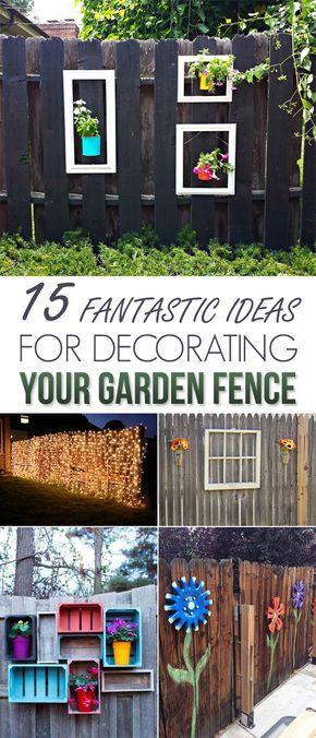 您是否正在寻找一些创造性的方法来修剪您的花园或院子而不会破坏银行?在今天的文章中,我们向您展示了一些惊人的想法,为您的花园围栏添加创意。