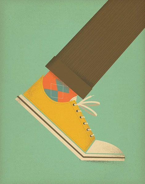 #illustration #vintage #ConverseStyle