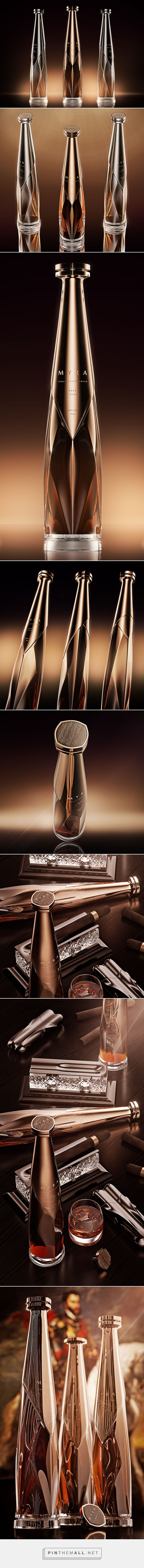 Myra Tequila - Packaging of the World - Creative Package Design Gallery - http://www.packagingoftheworld.com/2017/12/myra.html