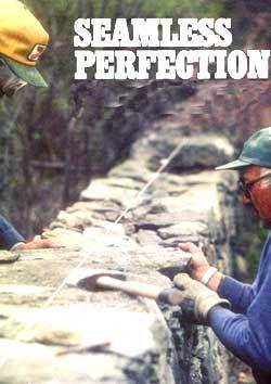 了解如何建造干石墙,包括选择石块,设备,布局,端部和角落。